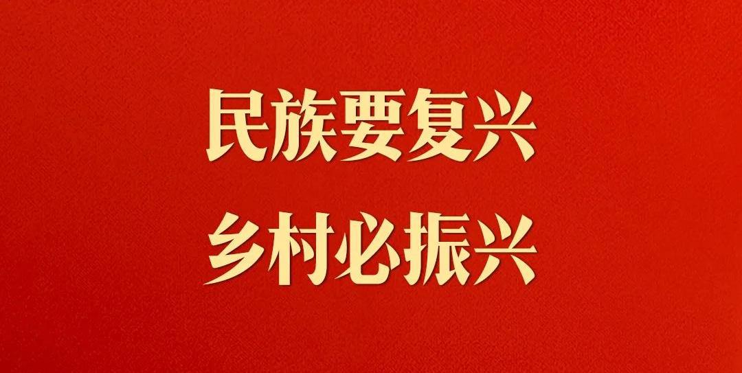 习近平:民族要复兴,乡村必振兴